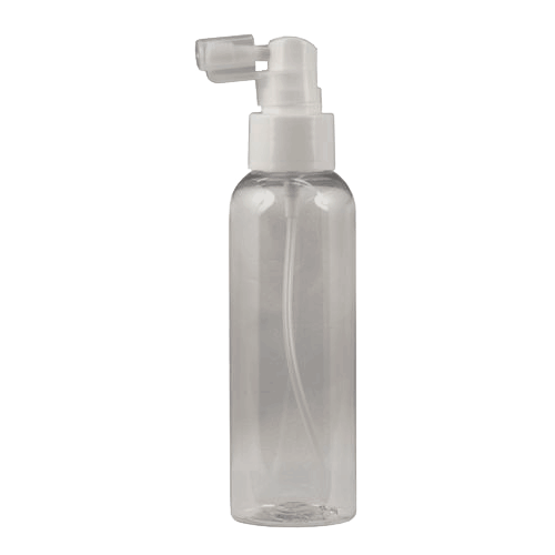 Clear PET Plastic Bottle 125ml Mist Spray Pump