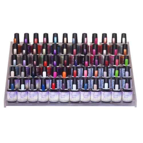 60 Bottle Polish Stand (polish not included)