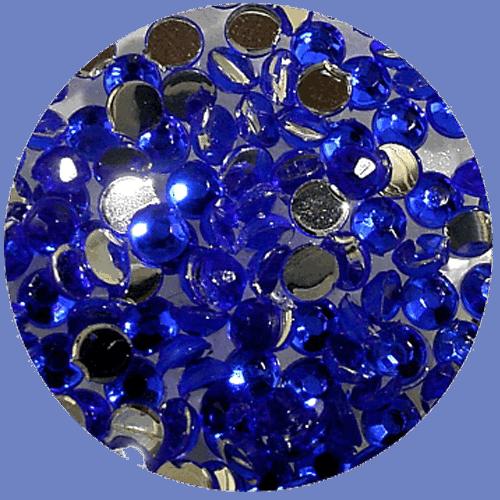Asian Rhinestones Teardrop Blue