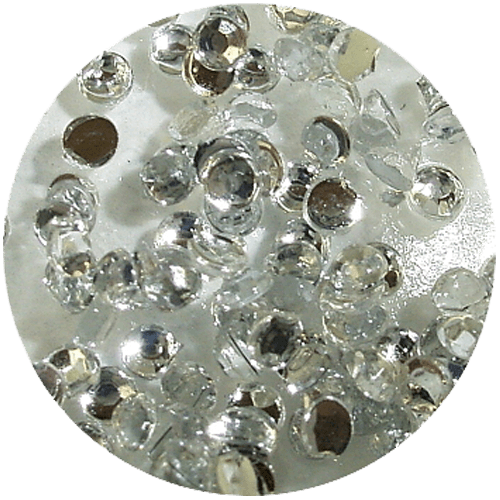 Asian Rhinestones Round Crystal