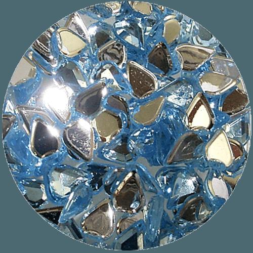 Asian Rhinestones Teardrop Pale Blue