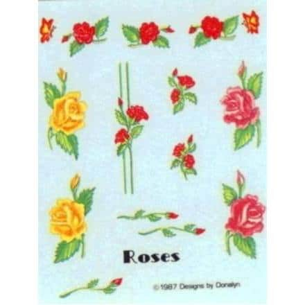 Donalyn Water Decals – Roses
