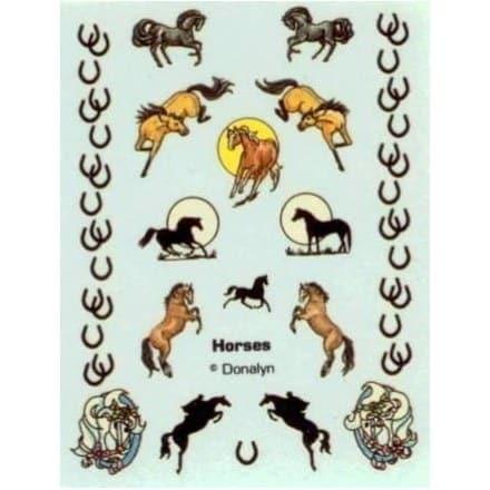 Donalyn Water Decals – Horses