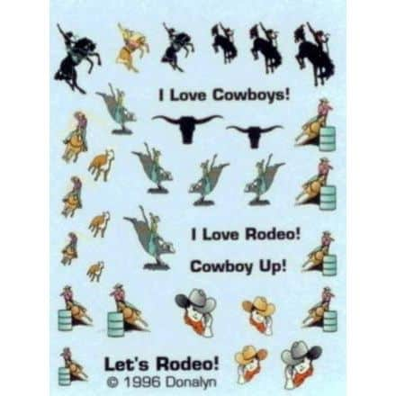 Donalyn Water Decals – Let's Rodeo