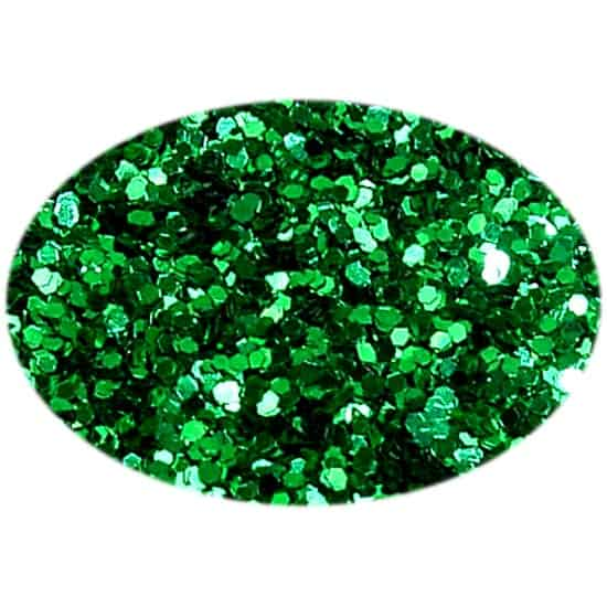 Glitter Green 015Hex