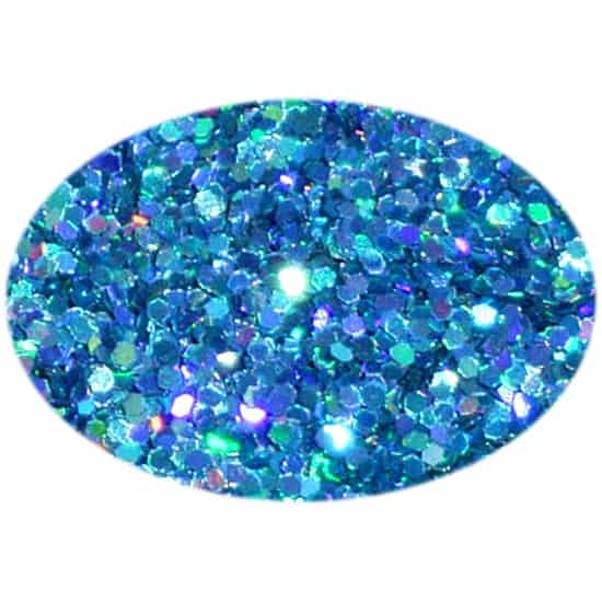 Glitter Holo Aqua 025Hex