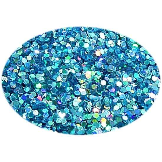 Glitter Holo Aqua 015Hex