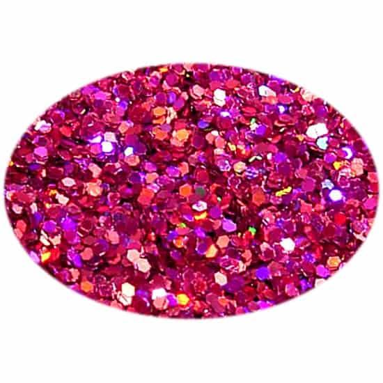 Glitter Holo Burgundy 015Hex