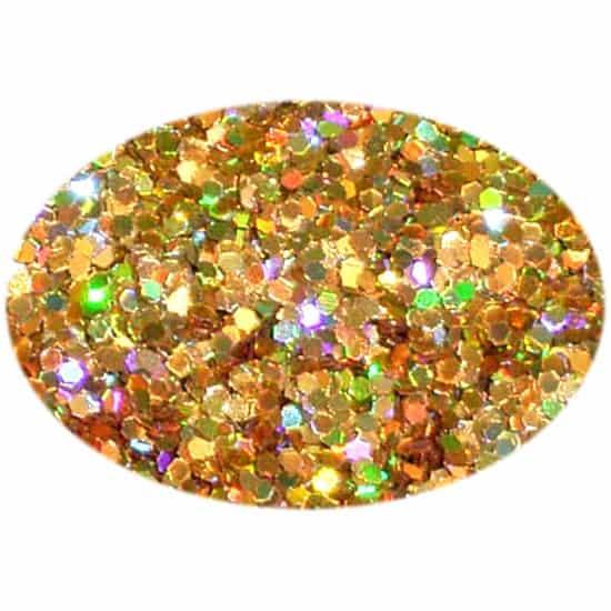 Glitter Holo Gold 025Hex