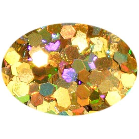 Glitter Holo Gold 0625Hex