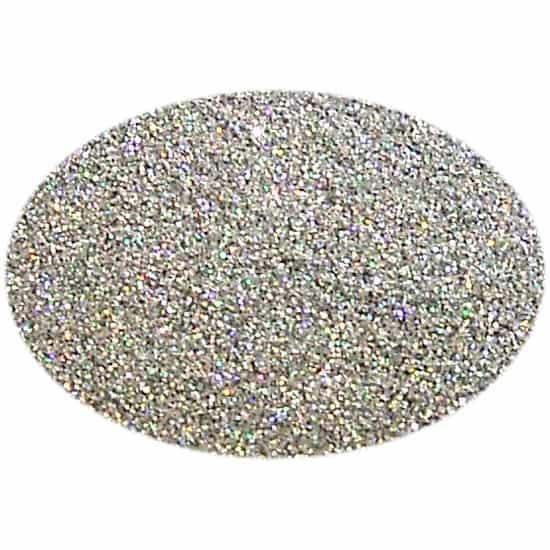 Glitter Holo Silver 004Sq