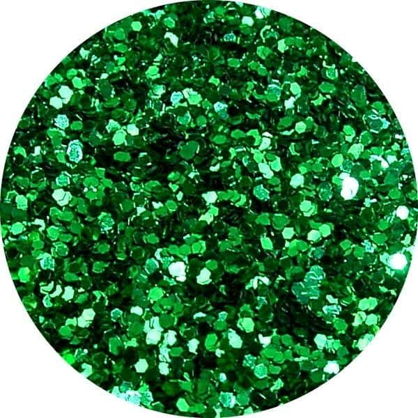 JOSS Green Solvent Stable Glitter 0.015Hex