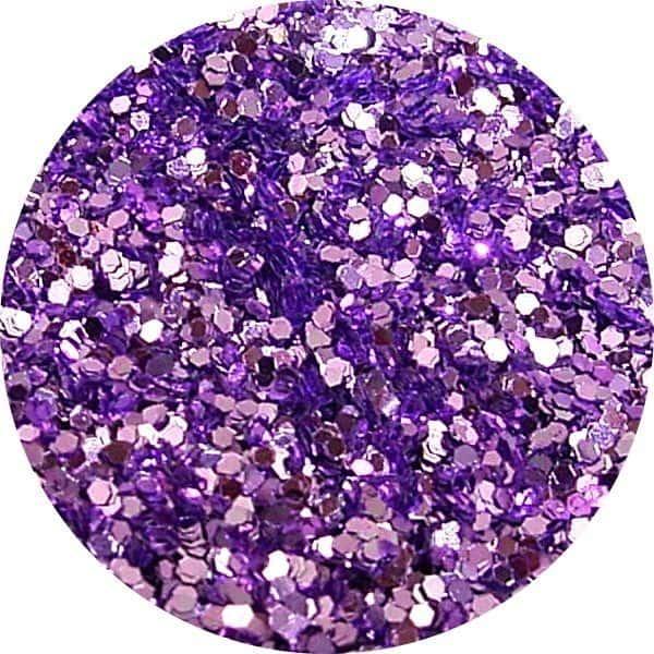 JOSS Lavender Solvent Stable Glitter 0.015Hex