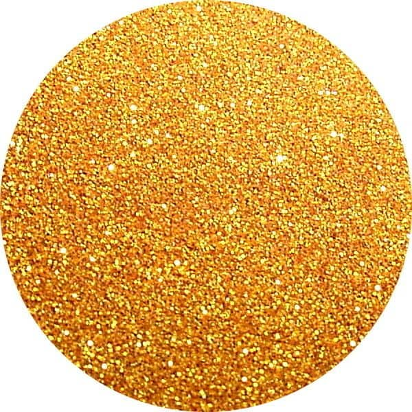 JOSS Gold Solvent Stable Glitter 0.004Hex