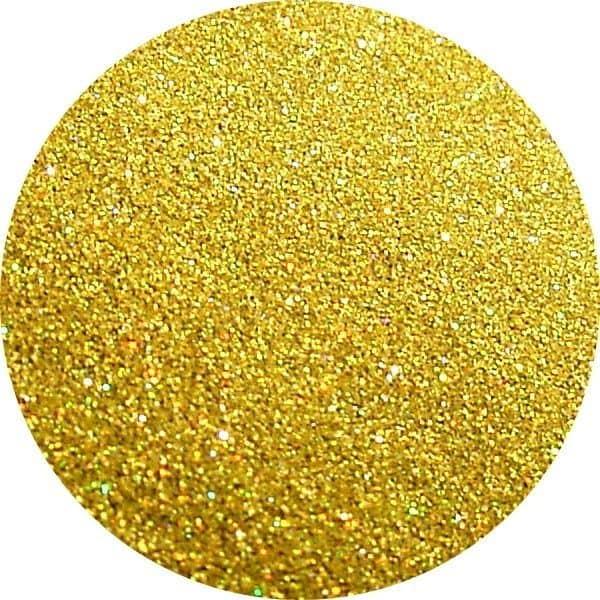 JOSS Holo Lemon Solvent Stable Glitter 0.004 Square