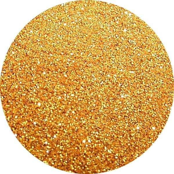 Perfect Nails Old Gold Solvent Stable Glitter 0.004 Square