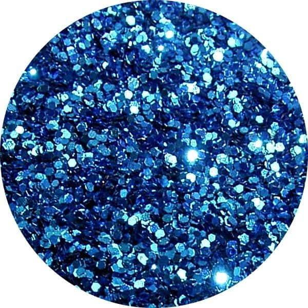 JOSS Dark Blue Solvent Stable Glitter 0.015Hex