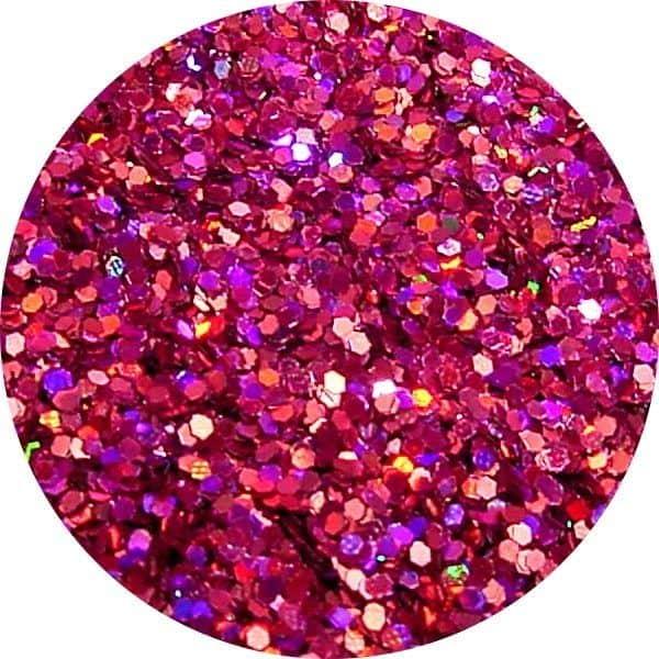 JOSS Holo Burgundy Solvent Stable Glitter 0.015Hex
