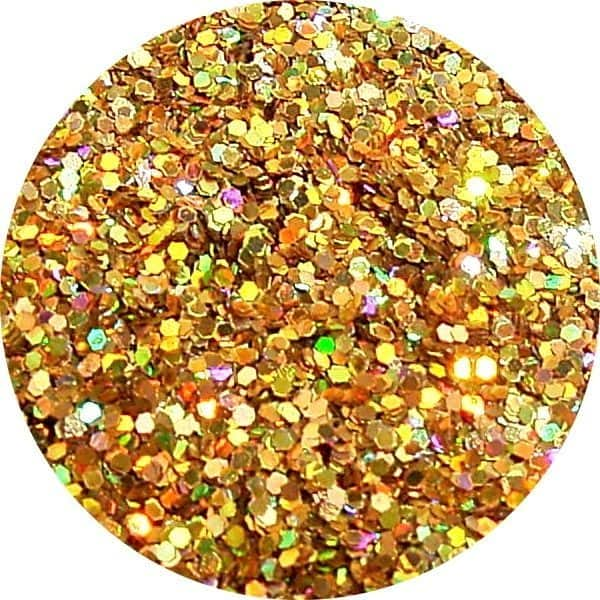 JOSS Holo Gold Solvent Stable Glitter 0.015Hex