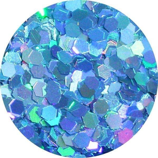 JOSS Holo Aqua Solvent Stable Glitter 0.0625Hex