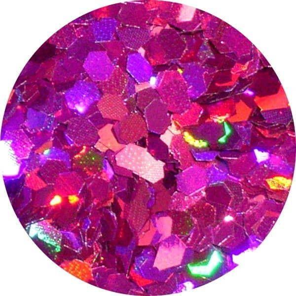 JOSS Holo Burgundy Solvent Stable Glitter 0.0625Hex