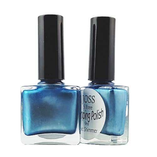 Perfect Nails Stamping Polish Blue Shimmer 9ml