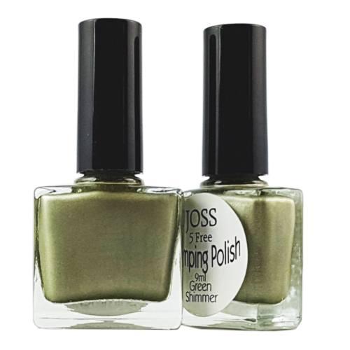 Perfect Nails Stamping Polish Green Shimmer 9ml