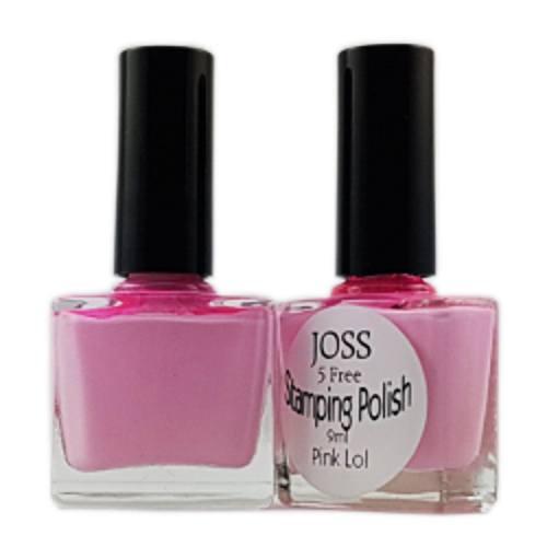 Perfect Nails Stamping Polish Pink LOL 9ml