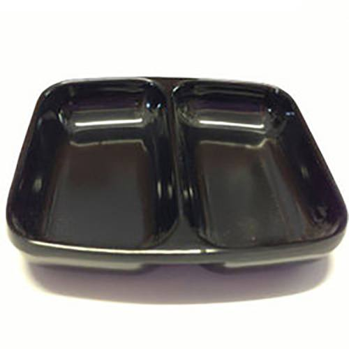Refectocil Black melamine 2 section mixing dish