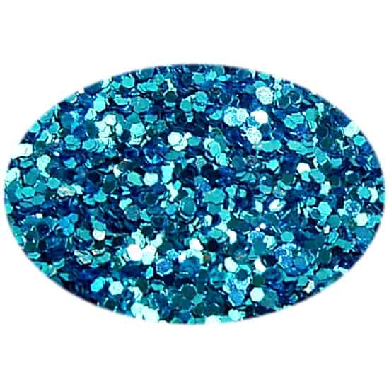 Glitter Medium Blue 015Hex