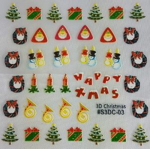 Christmas Decals Design B