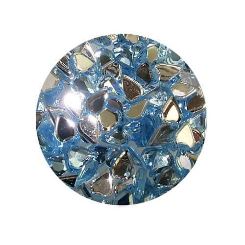 NP46LB P - Asian Rhinestones Teardrop Light Blue