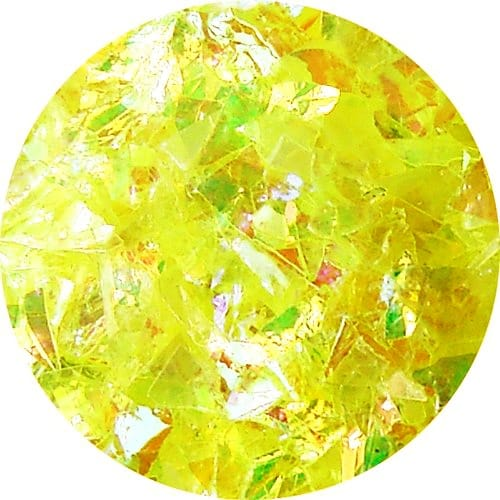 JOSS Irregular Flakes Bright Yellow