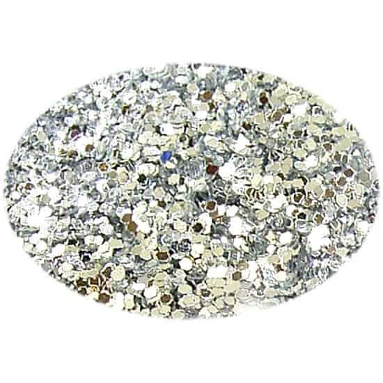Glitter Patina Silver 015Hex