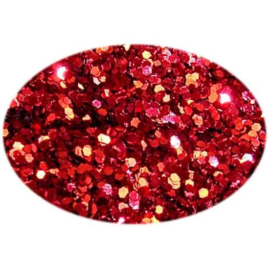 Glitter Red 015Hex