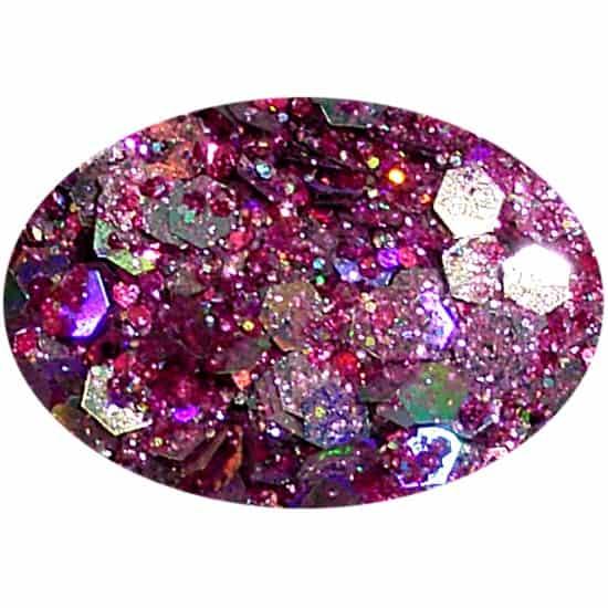 Glitter Rosy Fizz