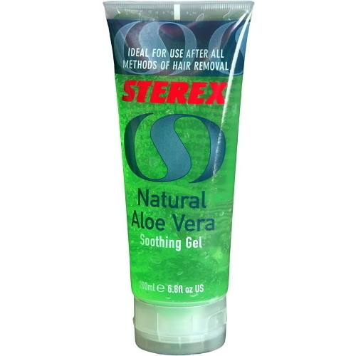 ST18 P - Sterex Aftercare Natural Aloe Vera Gel