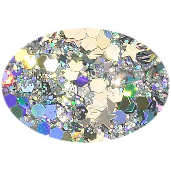 Glitter Silver Fizz