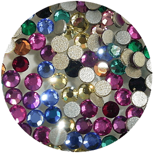 Swarovski Rhinestones SS5 Round Mixed Colours