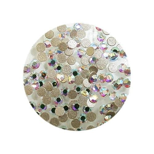 Swarovski Rhinestones SS3 Round Crystal AB