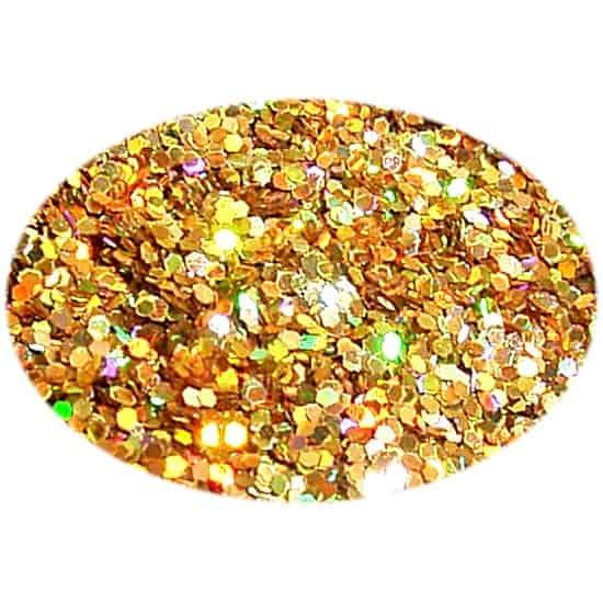 Glitter Yellow Gold 015Hex