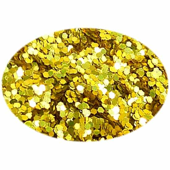 Glitter Yellow 015Hex