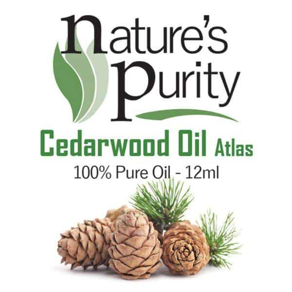 Cedarwood Oil Atlas 12ml