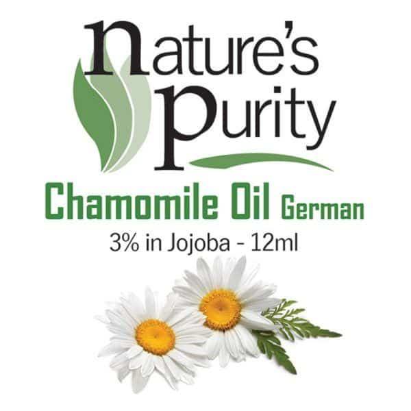 Chamomile Oil German 3% in Jojoba 12ml