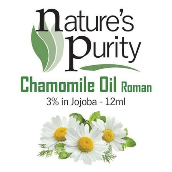 Chamomile Oil Roman 3% in Jojoba 12ml