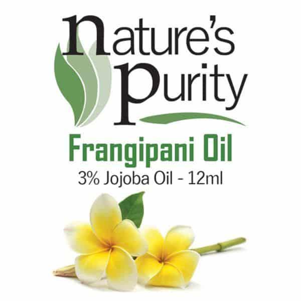 Frangipani 3% in Jojoba Oil 12ml
