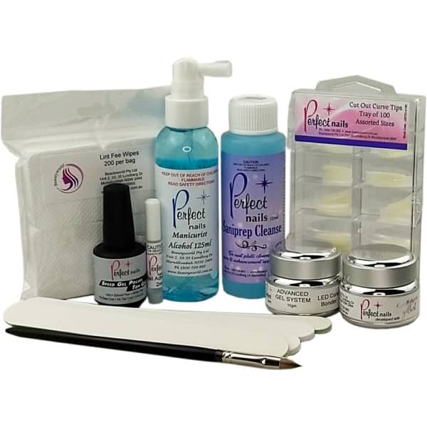 Perfect Nails Deluxe Gel Kit