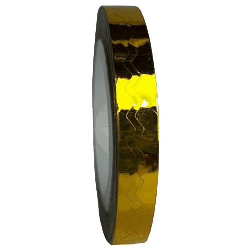 Gold Wavy Striping Tape