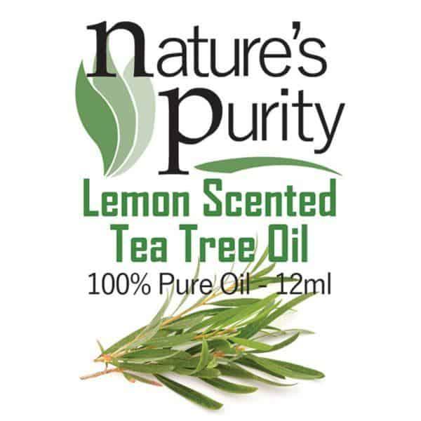 Lemon Scented Tea Tree Oil 12ml
