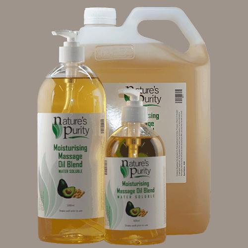 Moisturising Massage Oil Blend